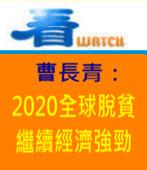 曹長青:2020全球脫貧 繼續經濟強勁 -台灣e新聞