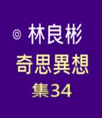 奇思異想 集34  ◎林良彬 - 台灣e新聞