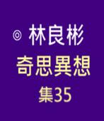 奇思異想 集35  ◎林良彬 - 台灣e新聞