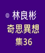 奇思異想 集36  ◎林良彬 - 台灣e新聞