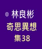 奇思異想 集38  ◎林良彬 - 台灣e新聞