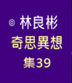 奇思異想 集39  ◎林良彬 - 台灣e新聞