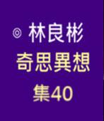 奇思異想 集40  ◎林良彬 - 台灣e新聞