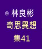 奇思異想 集41  ◎林良彬 - 台灣e新聞