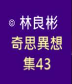 奇思異想 集43  ◎林良彬 - 台灣e新聞
