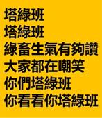 高唱塔綠班之歌遭出征 酸爆!因為說對了很害怕?- 台灣e新聞