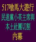 517嗆馬大遊行 民進黨小英主席與本土社團切割內幕