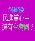 民進黨心中還有「台灣國」? ◎陳昭姿