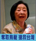奪取鳥籠 搶救台灣|◎楊劉秀華