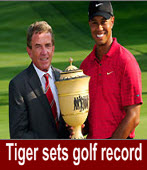 Tiger wins Bridgestone for 16th win in WGC events