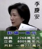 雙重國籍案 李慶安詐欺罪起訴