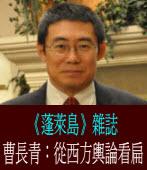 曹長青:從西方輿論看扁