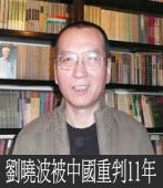 劉曉波重判11年 人權組織強烈譴責