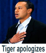 Tiger Woods 為婚外情道歉