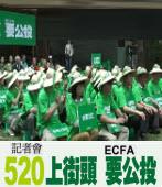 ECFA 公投行動聯記者會