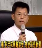 楊秋興宣佈參選大高雄市長