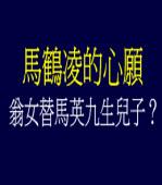 馬鶴凌的心願 - 翁女替馬英九生兒子?
