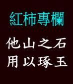 Andy Chang 紅柿專欄 :他山之石,用以琢玉