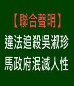 【聯合聲明】違法追殺吳淑珍 馬政府泯滅人性|台灣e新聞