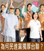 為何民進黨獨厚台聯?|台灣e新聞