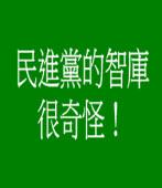 民進黨的智庫很奇怪! |台灣e新聞