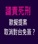 譴責死刑 歐擬提案取消對台免簽? |台灣e新聞