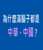 為什麼滿腦子都是「中華」、「中國」? |台灣e新聞
