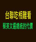 台聯吃相難看!蔡英文選總統的代價|台灣e新聞