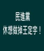 民進黨休想作掉王定宇!∣◎ jt|台灣e新聞