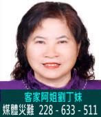 劉丁妹:媒體災難──228-633-511|台灣e新聞