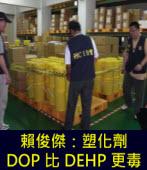 賴俊傑:我使用了25年的塑化劑「DOP」比「DEHP」更毒|台灣e新聞