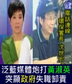 泛藍媒體炮打黃淑英,突顯衛生署、環保署失職卸責 |台灣e新聞