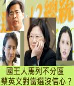 國王人馬列不分區 蔡英文對當選沒信心?∣台灣e新聞