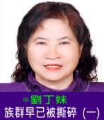 族群早已被撕碎(一)∣◎劉丁妹|台灣e新聞