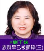 族群早已被撕碎(三)∣◎劉丁妹|台灣e新聞