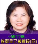 族群早已被撕碎(四)∣◎劉丁妹|台灣e新聞