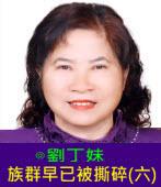 族群早已被撕碎(六)∣◎劉丁妹|台灣e新聞