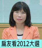 扁友看2012大選 ∣◎陳昭姿