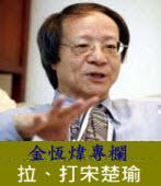 《金恆煒專欄》拉、打宋楚瑜|台灣e新聞