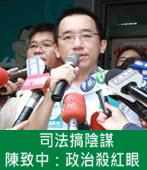 司法搞陰謀 陳致中:政治殺紅眼|台灣e新聞