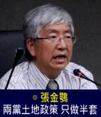 張金鶚:兩黨土地政策 只做半套|台灣e新聞