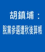 胡鎮埔:脫黨參選遭秋後算帳  |台灣e新聞