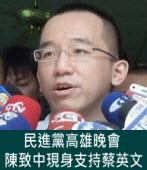民進黨高雄晚會 陳致中現身支持蔡英文|台灣e新聞