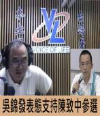 吳錦發專訪陳致中 & 支持陳致中參選立委|台灣e新聞