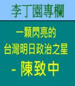 一顆閃亮的台灣明日政治之星 -  陳致中 | 李丁園專欄|台灣e新聞