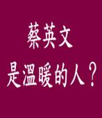 蔡英文是溫暖的人?|台灣e新聞