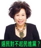 黃越綏:選民對不起民進黨?|台灣e新聞