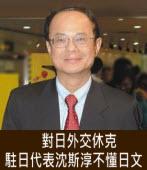 對日外交休克 新任駐日代表沈斯淳不懂日文|台灣e新聞