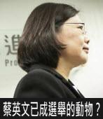 蔡英文已成選舉的動物?|台灣e新聞
