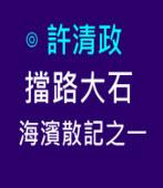 擋路大石-海濱散記之一∣ ◎許清政|台灣e新聞